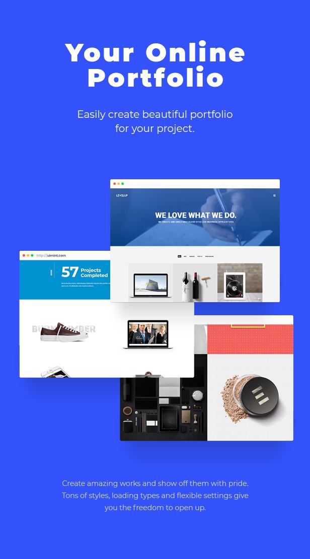 LEVELUP - Responsive Creative Multipurpose WordPress Theme - 6