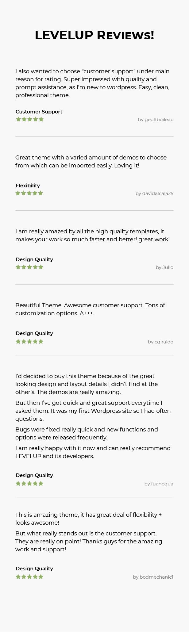 LEVELUP - Responsive Creative Multipurpose WordPress Theme - 15