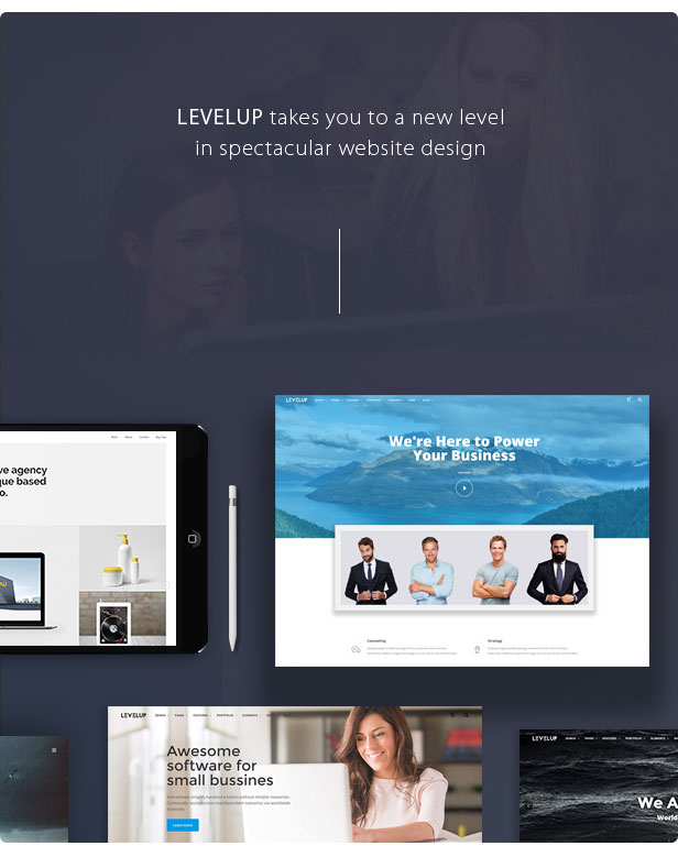 LEVELUP - Responsive Creative Multipurpose WordPress Theme Download
