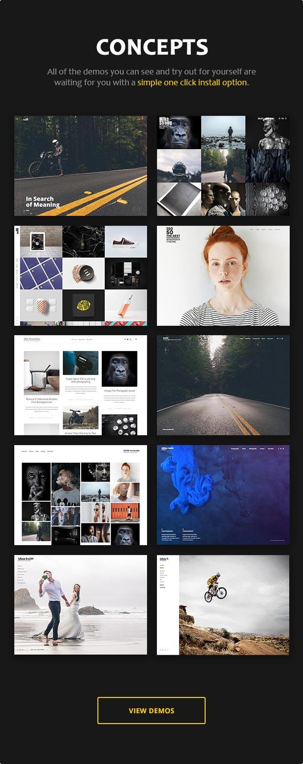 Iso50 - Photography WordPress Theme - 3