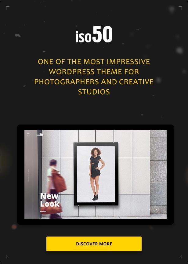 Iso50 - Photography WordPress Theme - 1