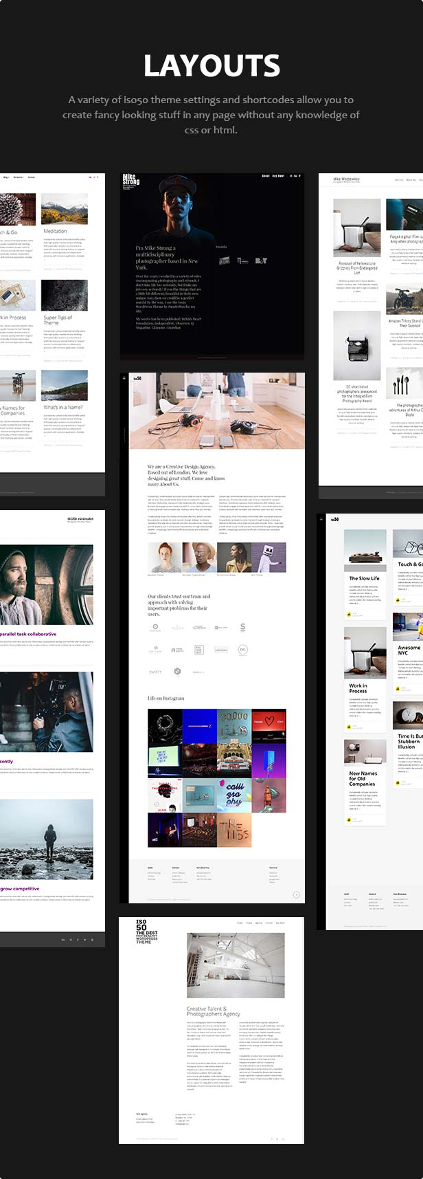 Iso50 - Photography WordPress Theme - 4