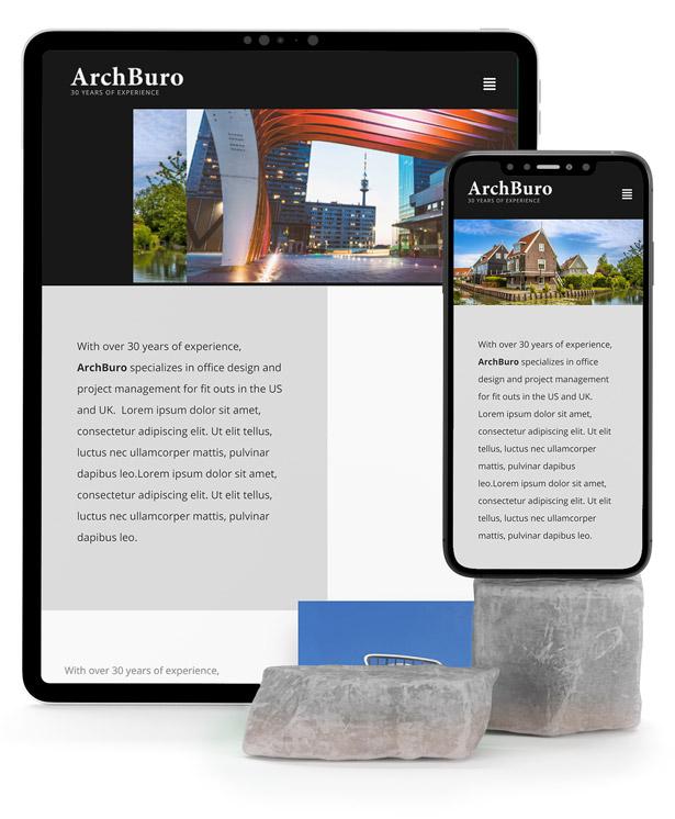 ArchBuro - Architecture Bureau Template Kit - 2