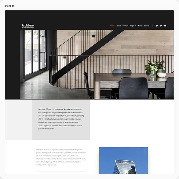 ArchBuro - Architecture Bureau Template Kit - 1