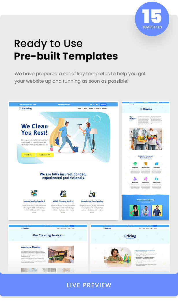 Cleaning - Small Business Template Kit - 2